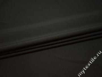 Костюмная серая ткань полиэстер эластан ГД764