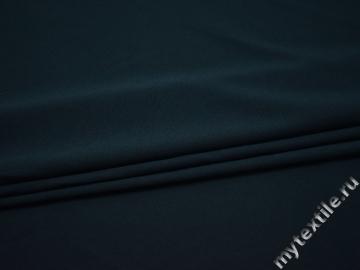 Костюмная синяя ткань полиэстер ГД744