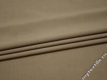 Костюмная серая ткань полиэстер ГД741