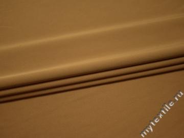 Костюмная бежевая ткань полиэстер ГД618