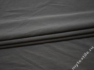 Костюмная серая ткань хлопок полиэстер ГД614