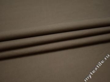 Костюмная серая ткань хлопок полиэстер ГД611
