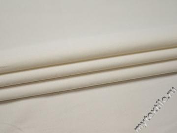 Костюмная белая ткань хлопок эластан ГД610