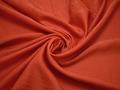 Плательная оранжевая ткань полиэстер ББ551