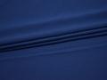 Плательная синяя ткань полиэстер БА626