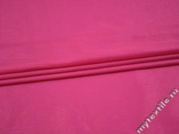 Плательная розовая ткань вискоза полиэстер БА627