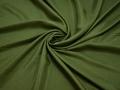 Плательная зеленая ткань вискоза полиэстер БА633