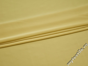 Плательная лимонная ткань полиэстер БА640