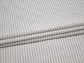 Рубашечная белая ткань в черную полоску хлопок БГ23