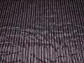 Рубашечная черная фиолетовая ткань в полоску хлопок эластан БГ210