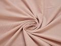 Рубашечная пудровая ткань полоска хлопок эластан БГ222