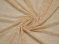 Гипюр бежевый цветы полиэстер эластан БВ558