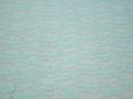 Гипюр бирюзовый цветы полиэстер эластан БВ547