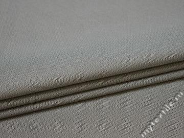 Рубашечная серая ткань зигзаг полиэстер БГ1105