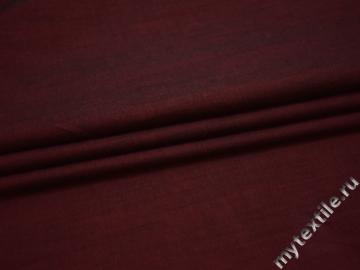 Хлопок бордового цвета БВ210