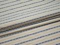 Рубашечная ткань синяя полоска хлопок БГ148