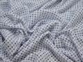 Рубашечная белая ткань геометрия хлопок полиэстер БГ173