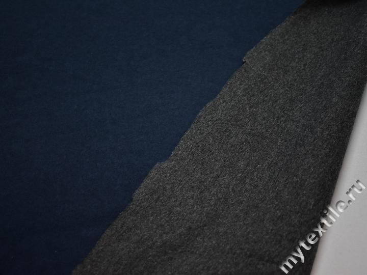 Неопрен синий шерсть полиэстер АВ64