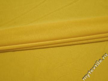 Трикотаж желтый хлопок АЖ635