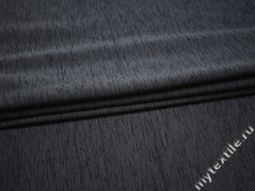 Трикотаж серый шерсть полиэстер АЖ535