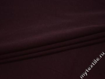 Трикотаж бордовый полиэстер АЖ522
