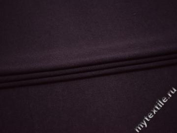Трикотаж фиолетовый хлопок шерсть АЖ511