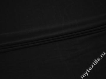 Трикотаж черный вискоза АД77