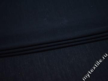 Трикотаж синий вискоза хлопок АД719