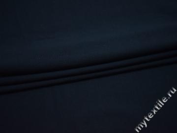 Трикотаж синий хлопок АД733