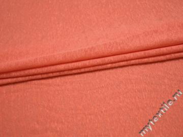 Трикотаж оранжевый вискоза хлопок АД335