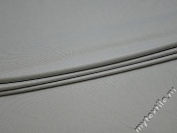 Трикотаж серый вискоза полиэстер АД329