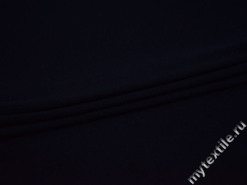 Трикотаж синий вискоза хлопок АД322