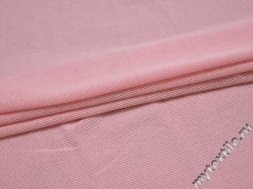Трикотаж розовый вискоза хлопок АД321