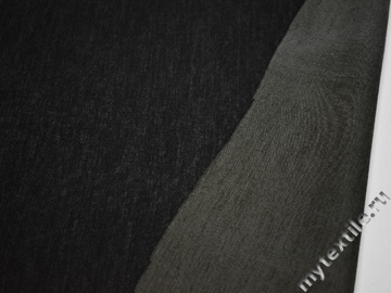 Неопрен тёмно-серый полиэстер эластан АБ68