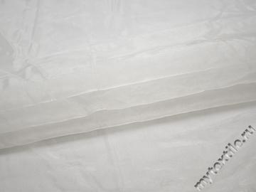 Органза белого цвета полиэстер ГВ519