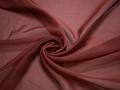 Органза коричневого цвета полиэстер ГВ598
