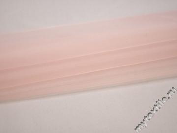 Органза розового цвета полиэстер ГВ595