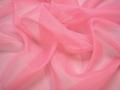 Органза розового цвета полиэстер ГВ596