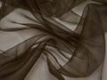 Органза коричневого цвета полиэстер ГВ5104