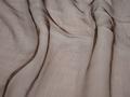 Органза коричневого цвета полиэстер ГВ5105