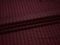 Рубашечная бордовая  ткань черная полоска хлопок эластан БГ13