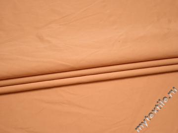 Вискоза с полиэстером персикового цвета БА132
