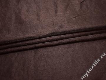 Вискоза коричневого цвета с полиэстером БА139