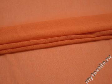 Вискоза оранжевого цвета БВ193