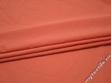 Вискоза оранжевого цвета БВ279