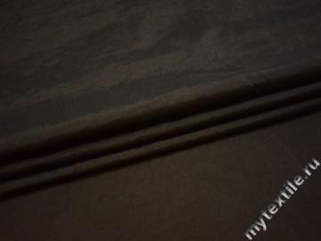 Тафта коричневого цвета полиэстер БВ660