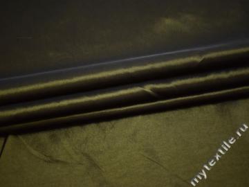 Тафта зеленого цвета полиэстер БВ622