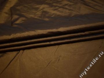 Тафта коричневого цвета полиэстер БВ620