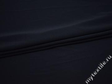 Трикотаж синий вискоза полиэстер АЕ759