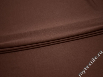 Трикотаж коричневый вискоза полиэстер АЕ713
